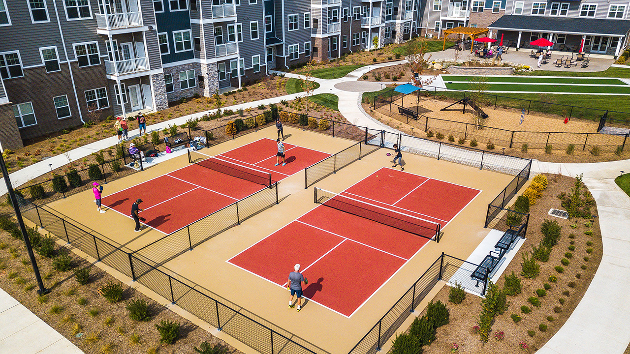 Encore Pickle Ball Courts